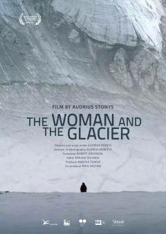 Женщина и ледник